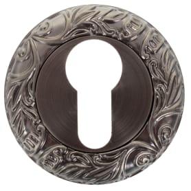 Накладка под цилиндр ET SM AS-3, цвет античное серебро