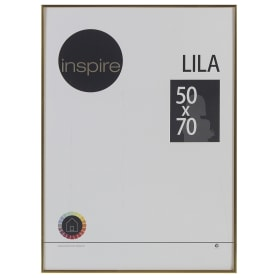 Рамка Inspire «Lila», 50х70 см, цвет золото