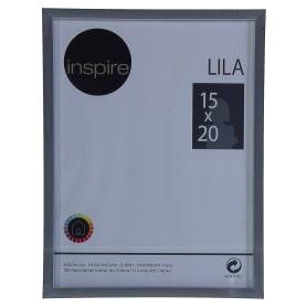Рамка Inspire «Lila», 15х20 см, цвет серебро