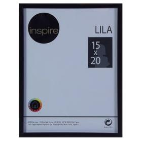 Рамка Inspire «Lila», 15х20 см, цвет чёрный