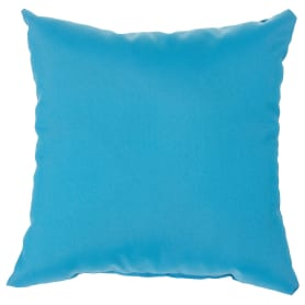 Подушка декоративная «Радуга» 40х40 см цвет тёмно-бирюзовый