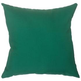 Подушка декоративная «Природа» 40х40 см цвет зелёный