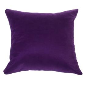 Подушка декоративная «Манчестер» 40х40 см цвет фиолетовый