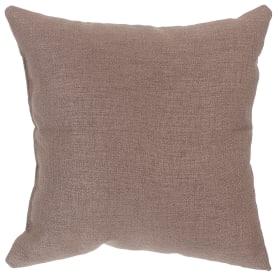 Подушка декоративная 40х40 см цвет серо-коричневый