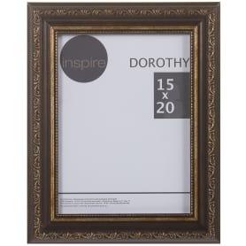 """Рамка Inspire """"Dorothy"""" цвет коричневый размер 15х20"""