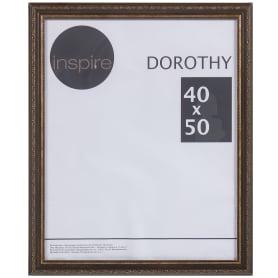 """Рамка Inspire """"Dorothy"""" цвет коричневый размер 40х50"""