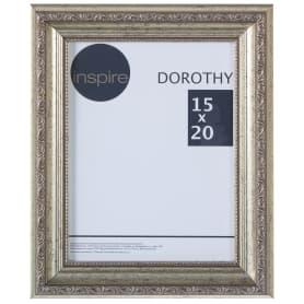 """Рамка Inspire """"Dorothy"""" цвет серебряный размер 15х20"""