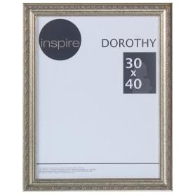 """Рамка Inspire """"Dorothy"""" цвет серебряный размер 30х40"""