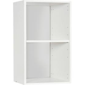 Каркас навесной угловой скошенный 40х70 см, цвет белый