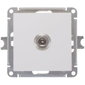 ТВ-розетка встраиваемая Schneider Electric W59, цвет белый