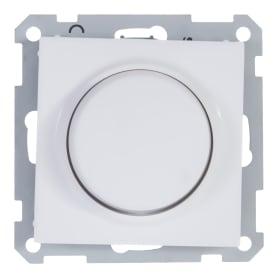 Диммер поворотный W59 300 Вт цвет белый