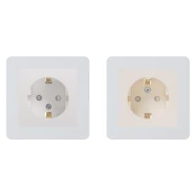 Рамка для розеток и выключателей Schneider Electric W59 1 пост, цвет белый