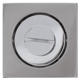 Фиксатор-вертушка для дверей Inspire квадратный, цвет никель
