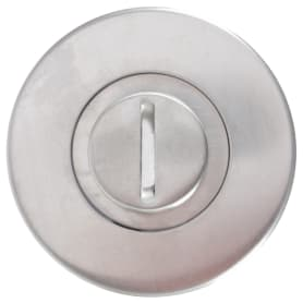 Фиксатор-вертушка для дверей Inspire, цвет нержавеющая сталь