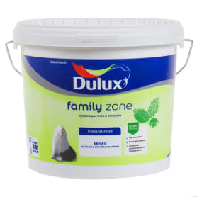 Краска на водной основе Dulux Family Zone база BW 4.5 л