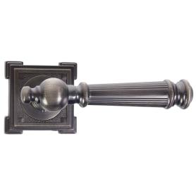 Ручка дверная на розетке «SQ Memory»