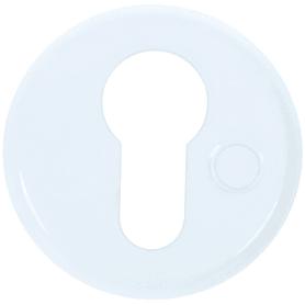 Накладка дверная Фабрика замков Е 002, цвет белый