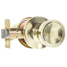 Ручка-защёлка Фабрика Замков 7072E PB PS, без фиксации, цвет глянцевое золото