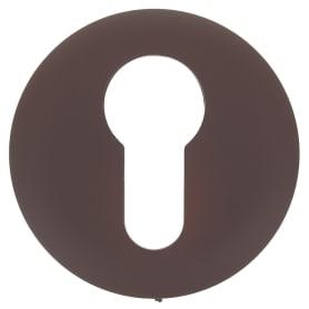 Накладка дверная Фабрика замков P 1 ET, цвет матовый коричневый