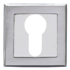 Накладка дверная Фабрика замков A 2 ET LPD, цвет глянцевый белый