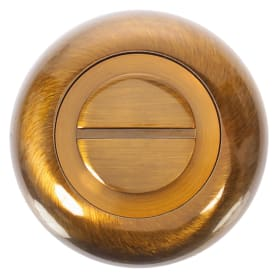 Фиксатор-вертушка для дверей, цвет кофейный