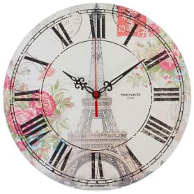 """Часы настенные """"Париж"""" диаметр 28.5 см"""