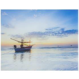 Картина на стекле 40х50 см «Вечернее море»