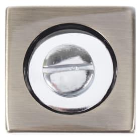 Фиксатор-вертушка для дверей Inspire квадратный, цвет бронзовый