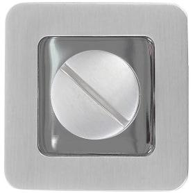 Фиксатор-вертушка для дверей Inspire, цвет белый