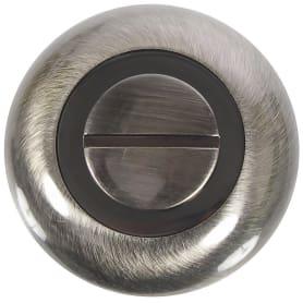 Фиксатор-вертушка для дверей Inspire круглый, цвет бронзовый