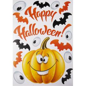 Наклейка на Halloween «Праздничная тыква» Декоретто