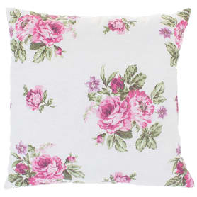 Подушка декоративная «Королевская роза» 40х40 см цвет красный