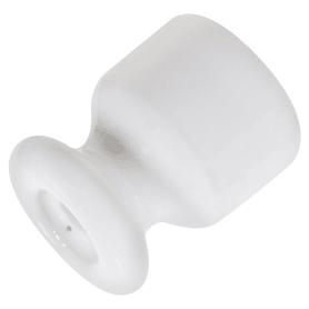 Изолятор цвет белый 10 шт.