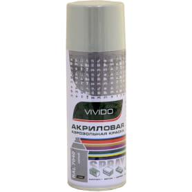 Краска аэрозольная Vivido цвет серый RAL 7040