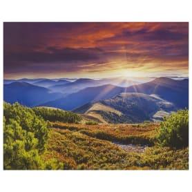 Картина на холсте «Закат в горах» 40х50 см