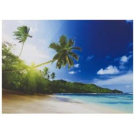 Картина на холсте «Пальмы на пляже» 50х70 см