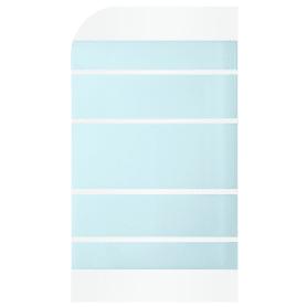 Ширма для ванны Nerea, 130x76 см, цвет белый