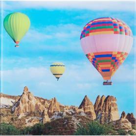 Картина на стекле 30х30 см «Воздушные шары-2»