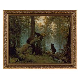 Картина в раме 40x50 см «Утро в сосновом бору»