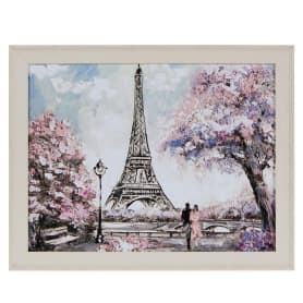 Картина в раме 40x50 см «Весна в Париже»