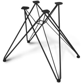 Каркас стула SHT-S50, металл, цвет чёрный муар