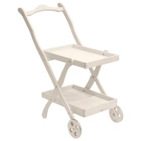Столик сервировочный «Бриз», окрашенный, с колёсами