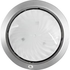 Фонарь пушлайт круглый цвет серебро