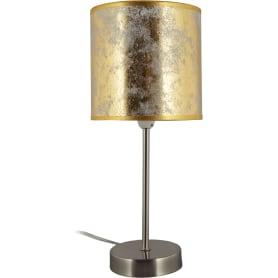 Настольная лампа Globo 15187T1 1xE27х60 Вт, цвет бронза