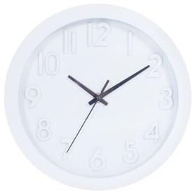 """Часы настенные """"Белые цифры"""" диаметр 25 см"""