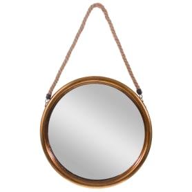 Зеркало декоративное на верёвке, диаметр 38 см