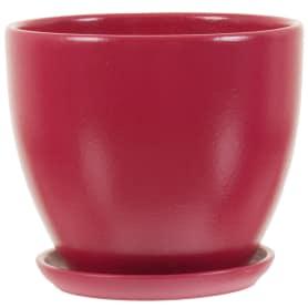 Горшок цветочный «Колор гейм» D18, 2, 6л., керамика, Красный