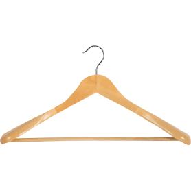Плечики для тяжелой одежды 450х230х58 мм, дерево
