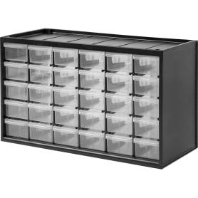 Органайзер 365х153х222 мм, 30 ящиков, пластик