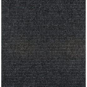 Дорожка ковровая «Шеффелд 50» иглопробивная, 1 м, цвет чёрный